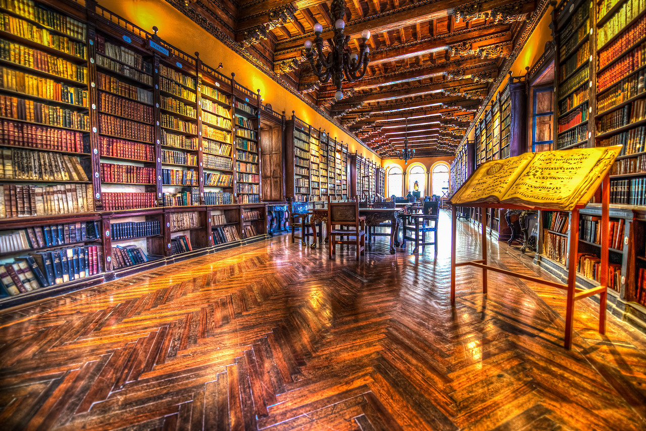 Library of Santo Domingo